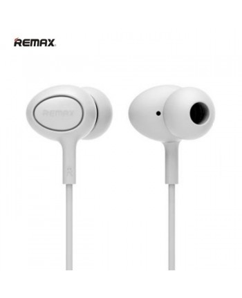 Remax RM-515 Super Comfort Fit Stereo 3.5mm In-Ear Headset with mic/remote White