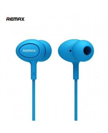 Remax RM-515 Super Comfort Fit Stereo 3.5mm In-Ear Headset with mic/remote Blue