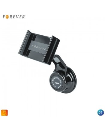 Forever CH-330 Universal Car Holder Easy Lock 10cm Hard Leg Window/Panel 360 rotate (6-9cm) Black