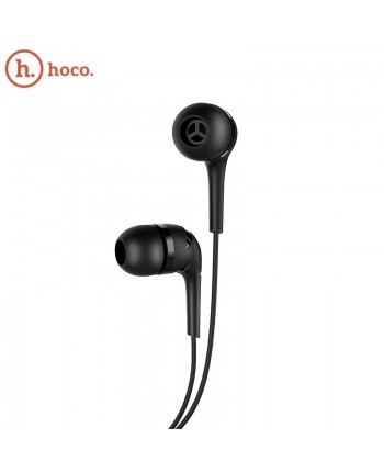 Hoco M40 Prosody Universal Lightweight In-Ear Headset 3.5mm with Microphone and Remote on 1.2m Cable Black