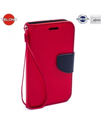 Telone Fancy Diary Bookstand Case LG X Screen K500N Red/Blue
