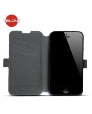 Telone Super Slim Shine Book Case with stand Huawei Ascend Y5 Black