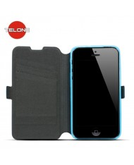 Telone Super Slim Shine Book Case with stand Huawei Ascend Y5 Blue