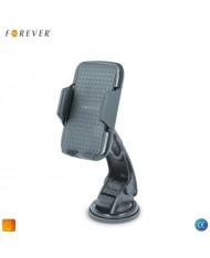Forever CH-300 Universal Car Holder 10cm Hard Leg Window/Panel Fixation and 360 rotation (5.5-9cm) Black