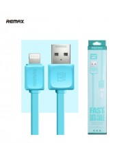 Remax Super Flat Lightning to USB Data & Charger Cable 1m Blue (MD818) (EU Blister)