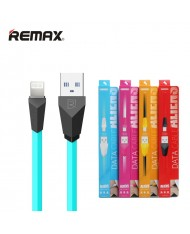 Remax Alien Super Flat Lightning to USB Data & Charger Cable 1m Blue (MD818) (EU Blister)