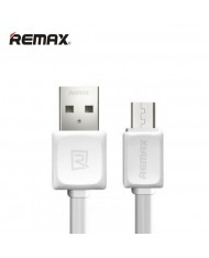 Remax Super Flat Universal Micro USB Data & Charging Cable 1m White (OEM)