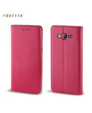 Forever Smart Magnetic Fix Book Case without clip Microsoft 640 Lumia Pink