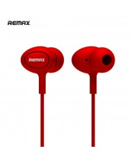 Remax RM-515 Super Comfort Fit Stereo 3.5mm In-Ear Headset with mic/remote Red