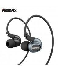 Remax RM-S1 Quad Core Bass Sport Over-ear Style 3.5mm In-Ear Headset with mic/remote Black