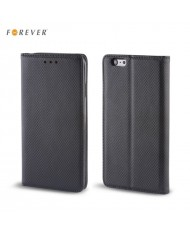 Forever Smart Magnetic Fix Book Case without clip Microsoft 550 Lumia Black