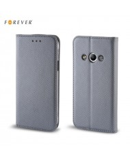 Forever Smart Magnetic Fix Book Case without clip Microsoft 550 Lumia Grey