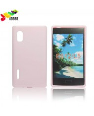 Forcell Jelly Back Case LG Optimus L5 E610 silicone case Pink