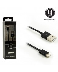 Uunique Premium MFi Certified Lightning to USB Data charging Cable iPhone 5 5C 5S 6 6S Plus (EU Blister)