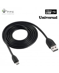 HTC DC M410 Original Micro USB Data & Charger Cable 1m Black (EU Blister)