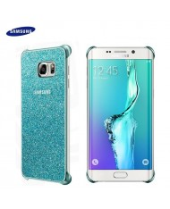 Samsung EF-XG928CLE Super Slim Back Case G928FZ Galaxy S6 Edge+ Glitter Blue (EU Blister)