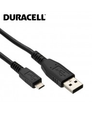 Duracell Universal Mirco USB Data Sync & Charger Cable 1m Black