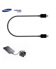 Samsung EP-SG900UBE Galaxy S5 Power Share Micro USB to Micro USB Cable Black (EU Blister)