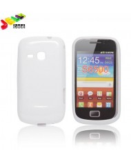 Forcell Jelly Back Case Samsung S6500 Galaxy mini 2 silicone case White