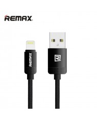 Remax Lovely Lightning to USB Data & Charger Cable with metall connectors (MD818) Black