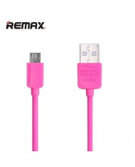 Remax Safe Speed Universal Micro USB Data & Charging Cable 1m Pink