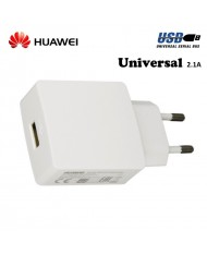 Huawei HW-050200E3W Universal USB Plug 2A Charger for SmartPhone and Tablet PC White (OEM)