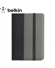 Belkin F7N037vfC00 Folio Classic Strap Book Cover with stand for Apple iPad mini / 2 / 3 / 4 Grey/Black