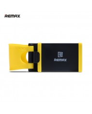 Remax RM-C11/BK Universal Car / Bike Steering Wheel Holder (5.5-8cm wide Easy fix) Black / Yellow