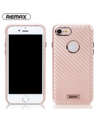 Remax Carbon Surface Desig Ultra-thin 1mm Back Case for Apple iPhone 7 (4.7inch) Rose Gold