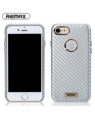 Remax Carbon Surface Desig Ultra-thin 1mm Back Case for Apple iPhone 7 (4.7inch) Silver