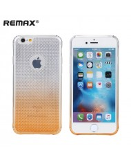 Remax Bright Diamond Ultra-thin 0.3mm Silicone Back case Apple iPhone 6 6S (4.7inch) Transparent Orange