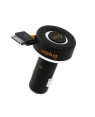 Unplug CCU1000IPH Compact iPod iPhone 4 4S 30Pin Fast 1A Car Charger with Rewind Cable (EU Blister)