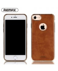 Remax Beck Lux Leather 1.5mm Thin Anti-Shock Back Case for Apple iPhone 7 Plus (5.5inch) Brown