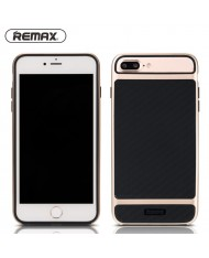 Remax Balance 1.5mm Thin Rubbered Anti-Shock Back Case for  Apple iPhone 7 (4.7inch) Gold