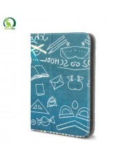 "GreenGo Universal 7-8"" Tablet PC Eco Leather Book Case with Stand School Board"