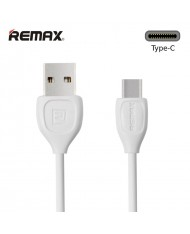 Remax LESU Strong & Flexible Silicone USB 3.0 to Type-C Data & Charger Cable 1m White