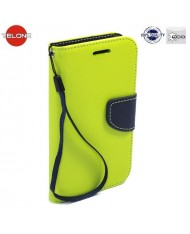 Telone Fancy Diary Bookstand Case Huawei Mate 9 Light Green/Blue