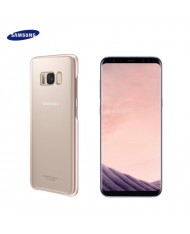 Samsung EF-QG955CPE Original super slim back cover case G955 Galaxy S8 Plus / S8+ Clear/Pink