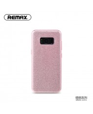 Remax Glitter super thin back cover case for Samsung G950 Galaxy S8 Pink