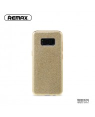 Remax Glitter super thin back cover case for Samsung G950 Galaxy S8 Gold