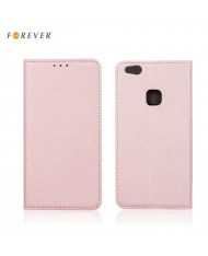 Forever Smart Magnetic Fix Book Case without clip Xiaomi Redmi 4A Rose Gold