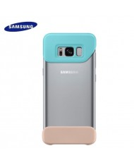 Samsung EF-MG950CME Original 2piece Cover case for G950 Galaxy S8 Mint/Beige