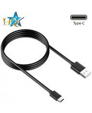 HQ Universal USB 3.0 to Type-C Super Fast Data & Charger Cable 2m Black (OEM)