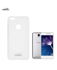Kisswill Frosted Ultra Thin 0.6mm Back Case Doogee X10 Transparent