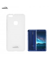Kisswill Frosted Ultra Thin 0.6mm Back Case Doogee BL5000 Transparent
