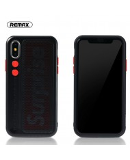 Remax RM-1656 Fantasy series perfect protection Back cover case for Apple iPhone X / iPhone 10 Black