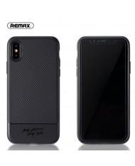 Remax RM-1632 Vigor series perfect protection Back cover case for Apple iPhone X / iPhone 10 Black