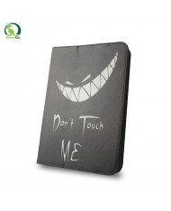 """GreenGo Universal 7-8"""" Tablet PC Eco Leather Book Case Don't touch me"""