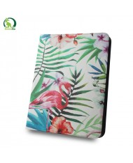 "GreenGo Universal 7-8"" Tablet PC Eco Leather Book Case Flamingo"