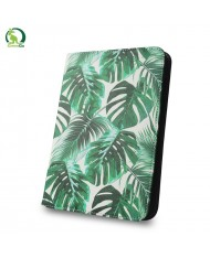 """GreenGo Universal 7-8"""" Tablet PC Eco Leather Book Case Plants"""